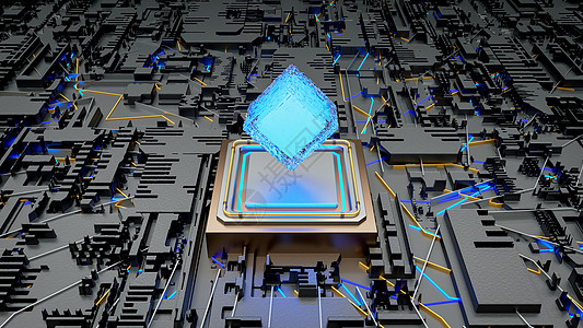 科技芯片图片大全