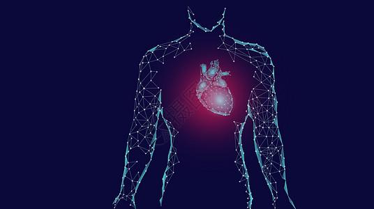 心脏病患者图片
