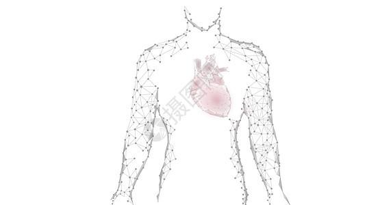 心脏病患者背景图片