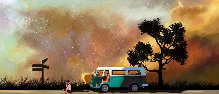 单人旅途图片
