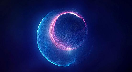 粒子旋转空间图片