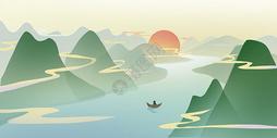 中国山水画2图片