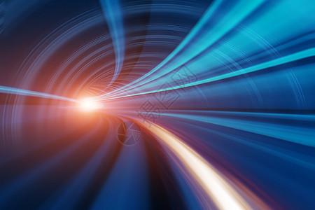 科技隧道光束图片