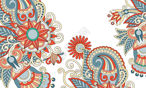 和风日系花纹背景图片
