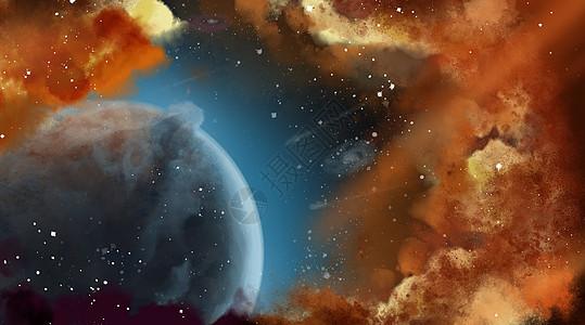 宇宙行星背景素材picture
