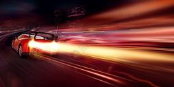 汽车速度感光效400652818图片