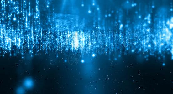 科技粒子背景图片