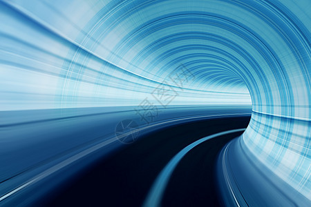 隧道光效图片