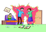 父母关系对孩子的影响图片