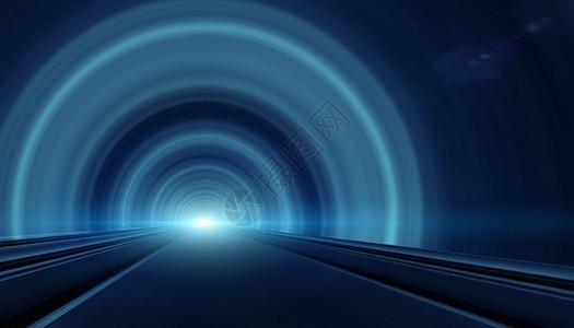 光束隧道图片