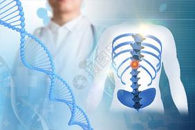 医生检测人体基因图片