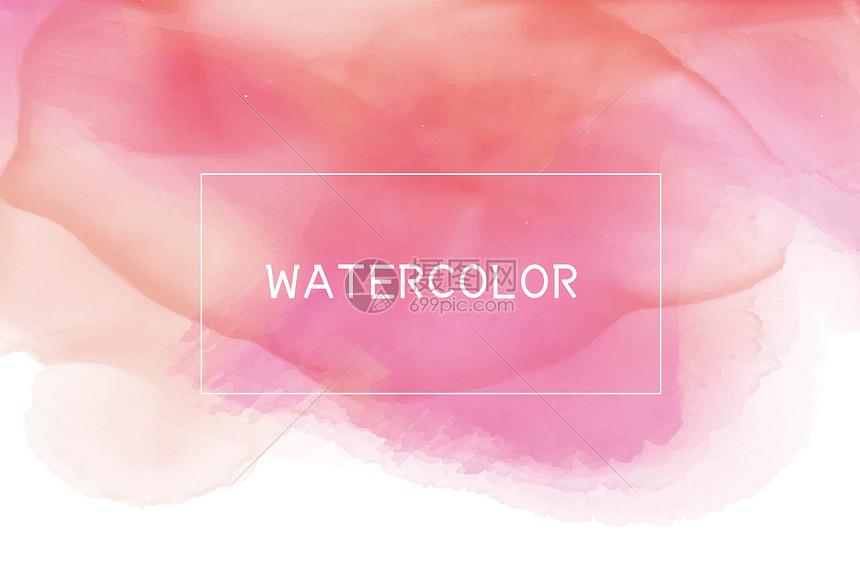 水彩背景图片
