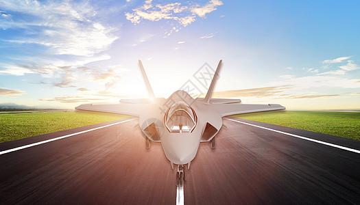 飞机起飞图片