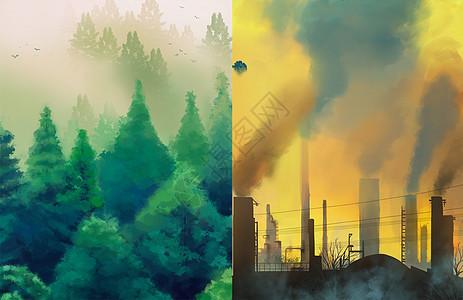 环保与污染图片