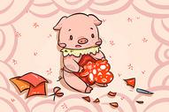 猪年剪纸图片