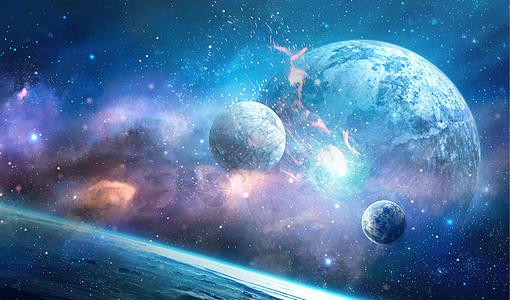 科幻星空场景图片
