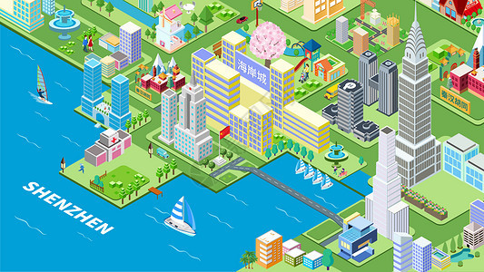都市建筑图片