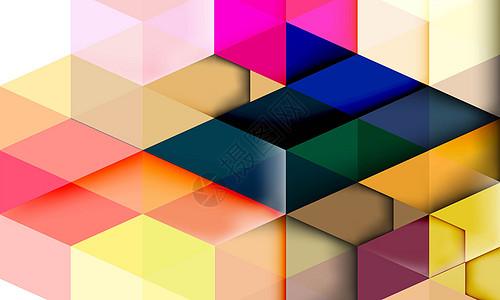 几何拼接背景图片