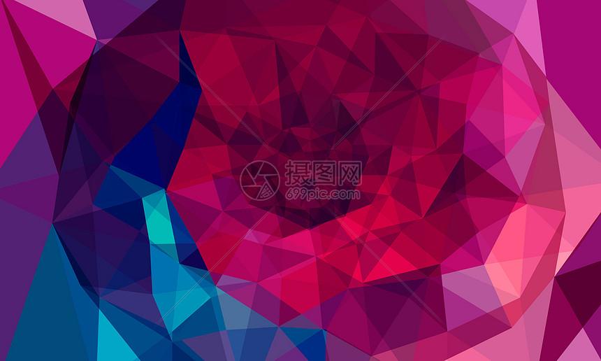 几何抽象背景图片