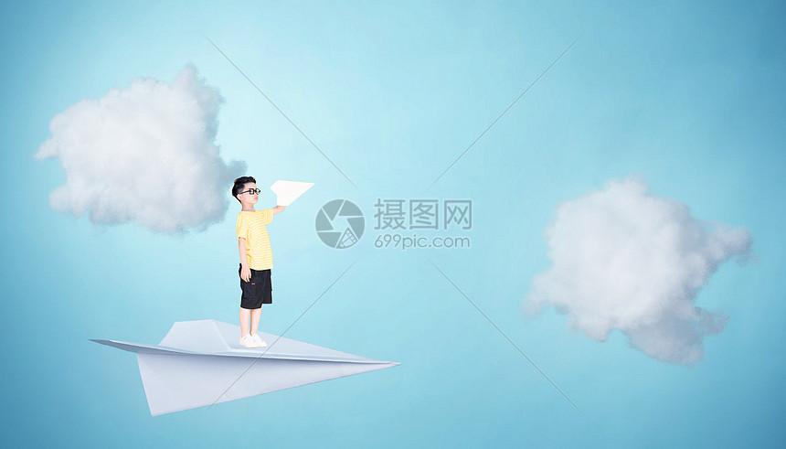 放飞梦想图片