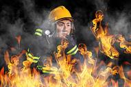 火灾救援图片