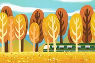 秋季旅行图片