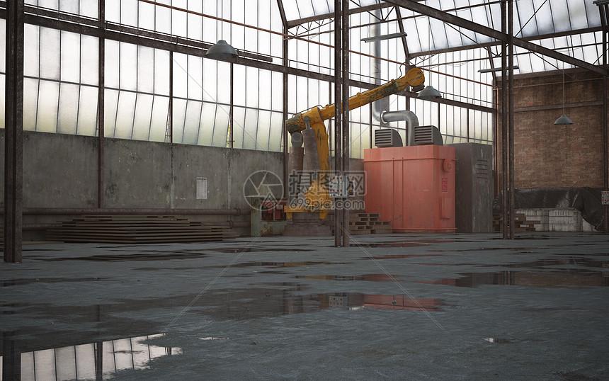 工业厂房空间图片