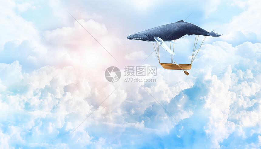 梦幻云海场景图片