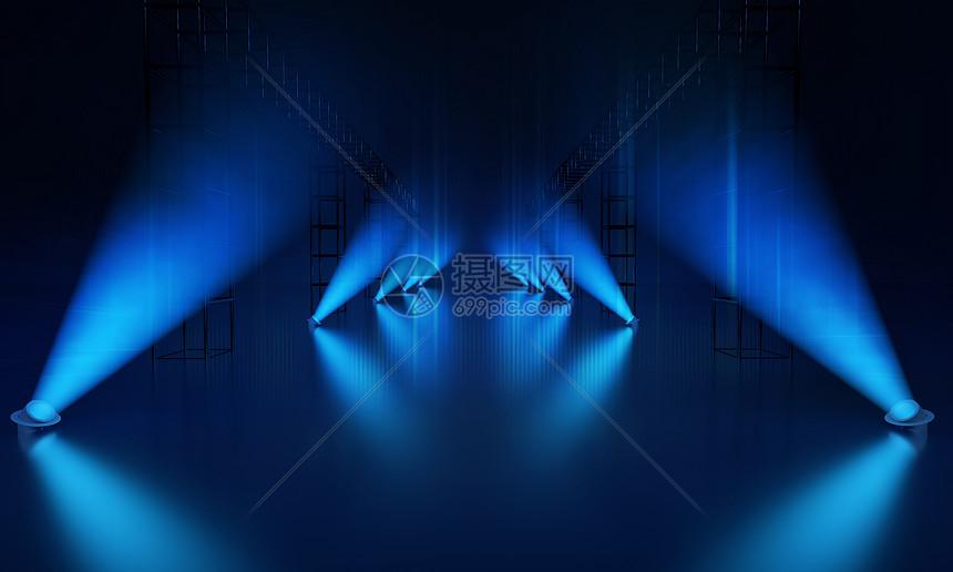灯光舞台背景图片