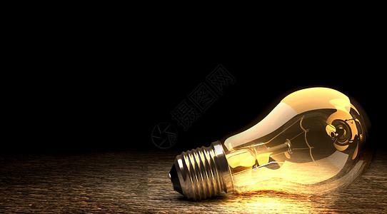 创意灯泡场景图片