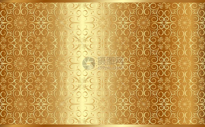 华丽金属纹路图片