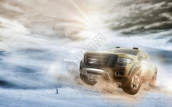 越野汽车沙漠狂飙图片