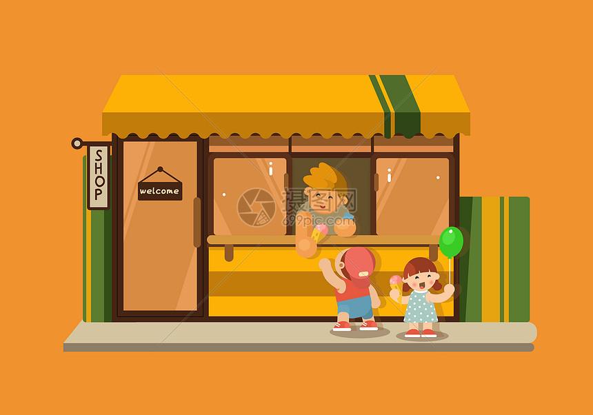 街角的便利店图片