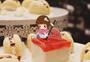 蛋糕与女孩图片