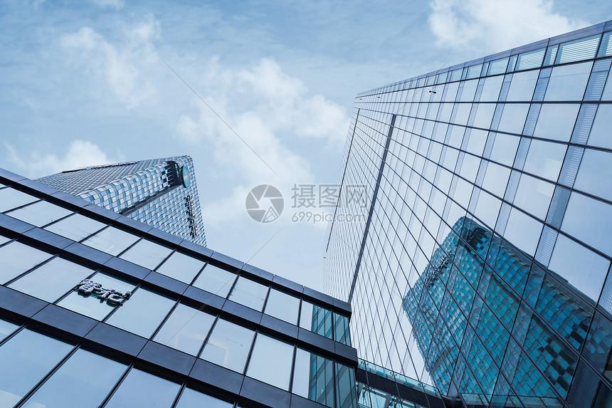 高楼天空图片