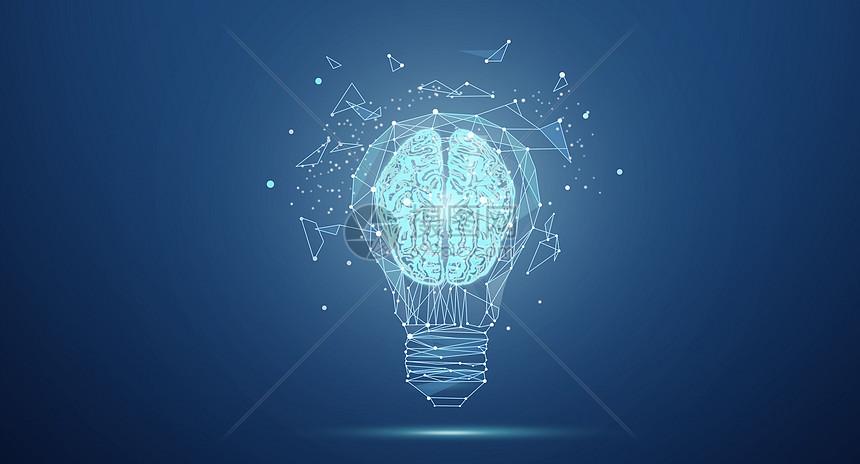 创意大脑灯泡.图片