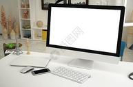 现代电脑桌面样机图片