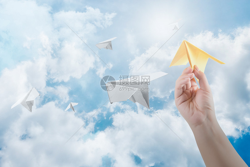 纸飞机图片
