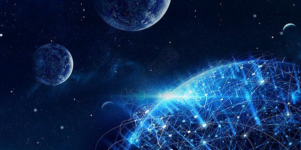 宇宙科技星空图片