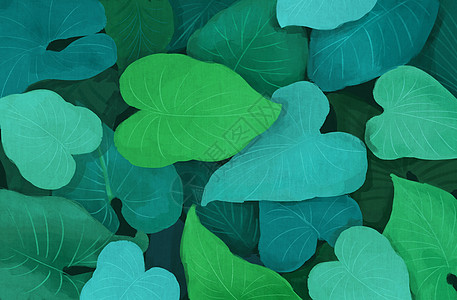 植物背景素材图片