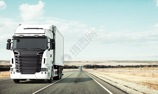 货车运输场景图片