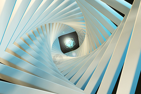抽象动态几何线框图片