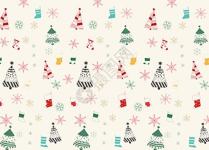小清新圣诞节背景图片