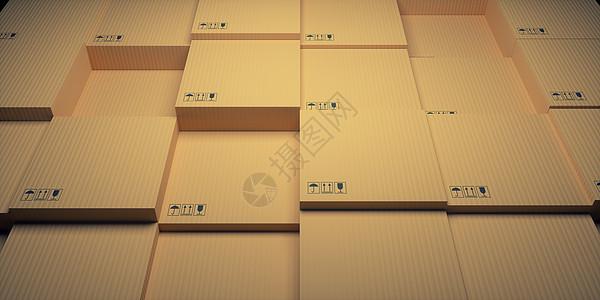 纸箱结构场景图片