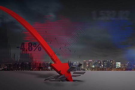 金融股票市场波动图片