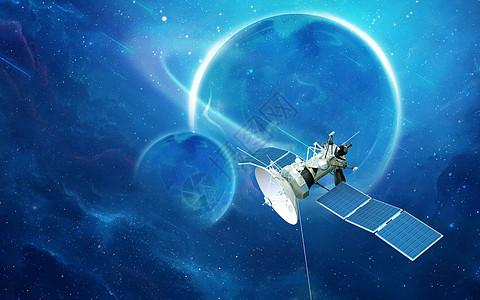 人造卫星图片