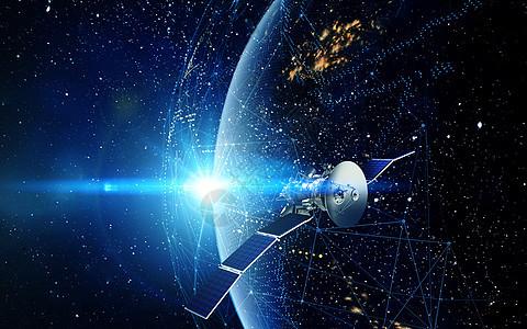 太空站运行场景图片
