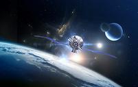 宇宙空间站图片