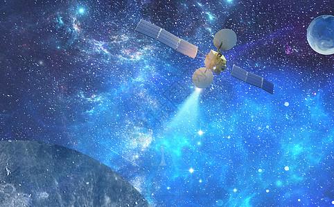 太空站发射信号图片