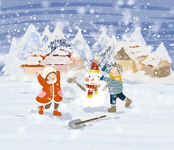 立冬大雪小雪图片
